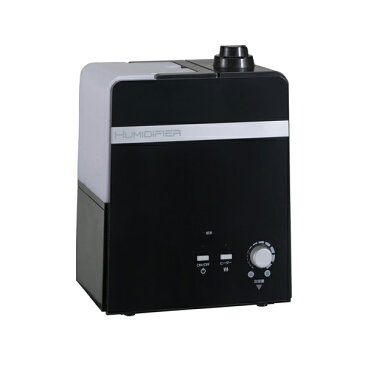YUASA ユアサプライムス ハイブリッド式加湿器 YHY-H500S BK ブラック 加湿器 ハイブリッド式 容量4L【送料無料】