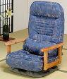 折り畳み式 木肘回転座椅子 SP-824(代引不可)【送料無料】