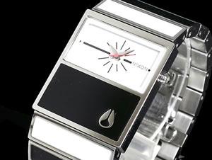 ニクソンNIXON腕時計シャレーCHALETA575-005BLACKWHITEH2