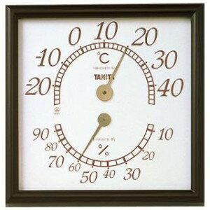 タニタ 温湿度計 オフィスキング ブラウン 5485BR【S1】