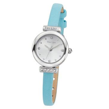 TirrLirr 腕時計 ジュエリー ウォッチ ブランド レディース 革ベルト twc-001BL(代引不可)【送料無料】