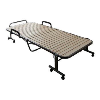 アイリスオーヤマ 折りたたみすのこベッド ベッド ナチュラルOTB-WH(代引き不可) アイリスオーヤマ