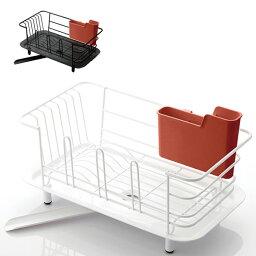 ディッシュドレイナー スリム 皿立て 水切り バスケット 幅39.5cm キッチン 食器 洗いもの 水切り(代引不可)【送料無料】