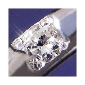 プラチナ100甲丸ダイヤモンドリング12号