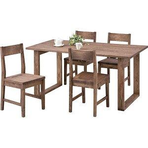 【ぬくもり家具】天然木オイル仕上げダイニングテーブル(組立)CFS-841