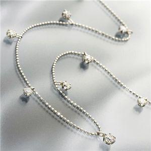 PT1.2ctダイヤモンドステーションネックレス【S1】:VANCL
