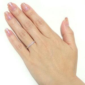 【鑑別書付】K18イエローゴールド天然ダイヤモンドリングダイヤ0.30ct10号ハーフエタニティリング