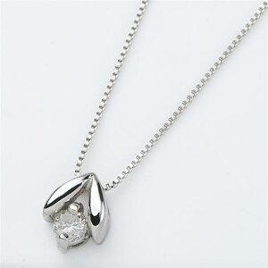 プラチナPT900天然ダイヤモンドネックレスダイヤ0.05CTネックレス