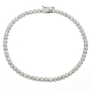 K18WG2ctダイヤモンドテニスブレス【S1】:VANCL