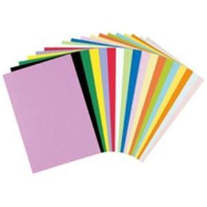 (業務用10セット)リンテック色画用紙/工作用紙【四つ切り100枚×10セット】茶色NC236-4