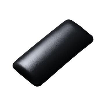 (まとめ)サンワサプライ マウス用リストレスト(レザー調素材、ブラック) TOK-GELPNSBK【×2セット】