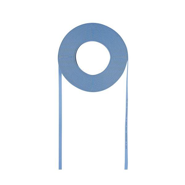 (まとめ)サンワサプライ 超フラットケーブルのみ(ライトブルー・100m) LA-FL5-CB100LB【×2セット】:VANCL