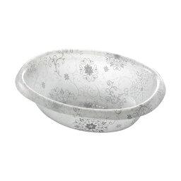 【24セット】リス フィルロ シュシュ ウォッシュボールR オフホワイト かわいい洗面器・湯桶(手おけ)【代引不可】