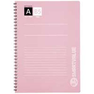 (業務用100セット)ジョインテックスWリングノート4冊パックセミB5A罫P003J-4P×100セット