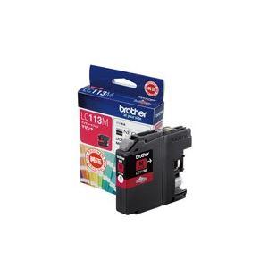 (業務用20セット)ブラザー工業インクカートリッジLC113Mマゼンタ×20セット