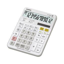 カシオ デスクサイズ チェック検算電卓 DJ-120W-N