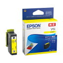 (まとめ)エプソン インクカートリッジ ソリイエロー SOR-Y 1個 【×5セット】