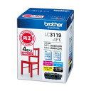 ブラザー インクカートリッジ 4色パック大容量 LC3119-4PK 1箱(4個:各色1個) 2