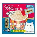 (まとめ)CIAO ちゅ〜る シーフードバラエティ 14g×20本 (ペット用品・猫フード)【×16セット】