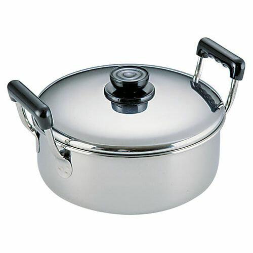 鍋, 両手鍋  18-0 20cm ASC06020