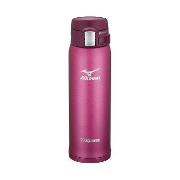 象印 ステンレスマグ 水筒 ミズノ 0.48L ワインレッド SM-SM48-VR 保温 保冷 ステンレスボトル