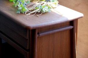 一生紀サイドボード幅110cm(ミディアムブラウン)【アルダー無垢材シリーズ家具】(き)