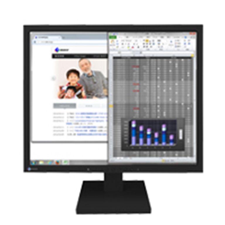 パソコン・周辺機器, ディスプレイ EIZO FlexScan19(1280x1024DisplayP ort(HDCP)x1DVI-D 24(HDCP)x1D-Sub 15()x1) S1934-TBK()