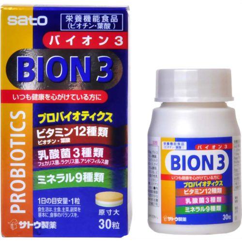 BION(バイオン)3 30粒