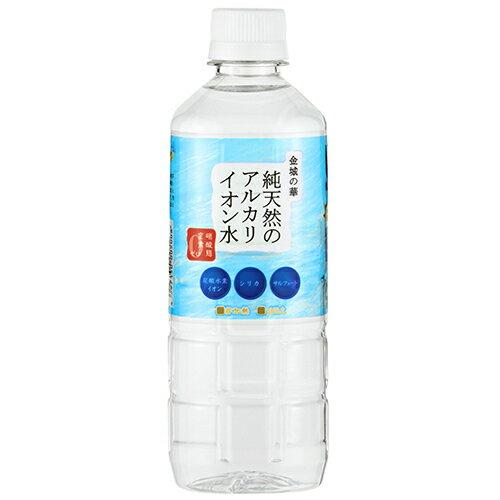 金城の華 純天然のアルカリイオン水 500ml*24本