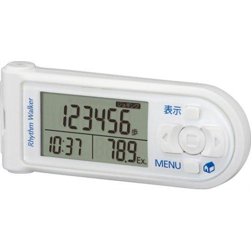 リズム時計 リズムウォーカーマルチ 歩数計 白 9ZY200RH03 リズム時計工業【S1】
