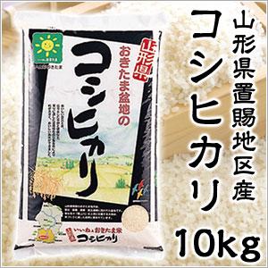 米 日本米 特Aランク 産地直送 25年度産 山形県 おきたま盆地産 コシヒカリ 置賜 10kg (5kg×2袋) JA直送 (代引き不可)【S1】