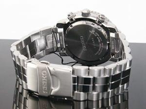 セイコーSEIKO腕時計時計クロノグラフアラームSNA411P1【_包装】H2