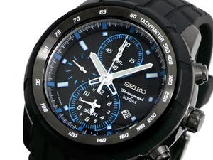 セイコーSEIKO腕時計メンズクロノグラフSNAD87P1【_包装】H2