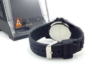 アバランチAVALANCHEレディース腕時計AV-107S-BK-40【_包装】H2