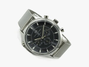 トミーヒルフィガー腕時計メンズ1790877ブラック×シルバー【_包装】H2