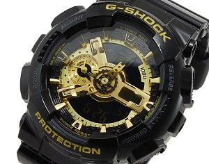 カシオCASIOGショックG-SHOCKハイパーカラーズ腕時計時計GA-110GB-1AJF【楽ギフ_包装】