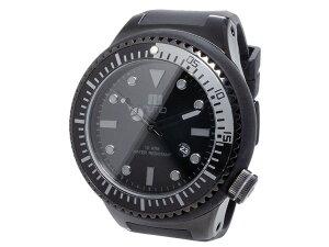 ヌーティッドNUTIDSCUBAPROクオーツメンズ腕時計時計N-1401M-EBLACK【_包装】