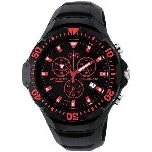 【CITIZEN】シチズンQ&Qソーラー電源メンズ腕時計H034-006SOLARMATE(ソーラーメイト)/10点入り(き)