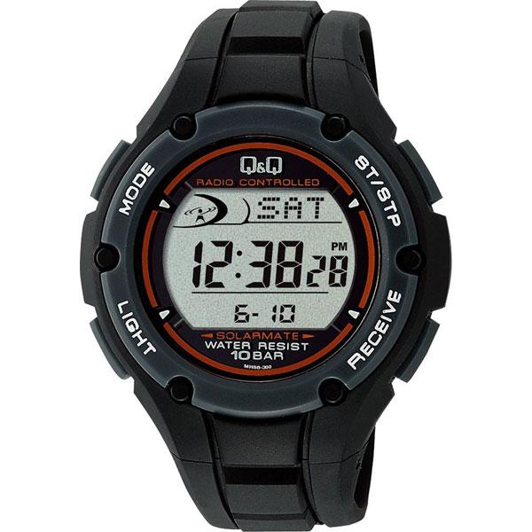 【CITIZEN】シチズン Q&Q 電波ソーラー メンズ腕時MHS6-300 SOLARMATE (ソーラーメイト) /10点入り(代引き不可)【S1】:VANCL