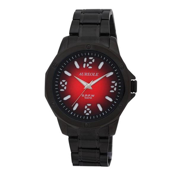 【AUREOLE】オレオール メンズ腕時計 SW-571M-7 アナログ表示 10気圧防水 /5点入り(代引き不可)【S1】:VANCL