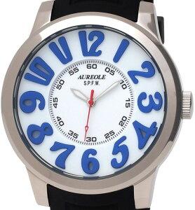 【AUREOLE】オレオールメンズ腕時計SW-584M-4アナログ表示10気圧防水/10点入り(き)