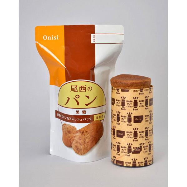 【Onisi】尾西 保存パン 黒糖味 41-B 30袋×3セット 保存期間3年 (日本製) (代引き不可)【S1】:VANCL
