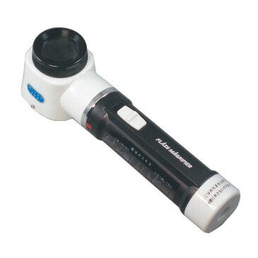 【MIZAR-TEC 】ミザールテック 手持ちルーペ 倍率10倍 レンズ径30mm ライト付 日本製 RF-100 /100点入り(代引き不可)