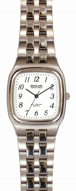 【ROGAR】ローガル メンズ腕時計 RO-052M-WS 日常生活用防水(日本製) /5点入り(代引き不可)【S1】:VANCL