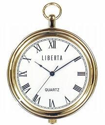 【LIBERTA】リベルタ ポケットウォッチ LI-042AR 日常生活用防水(日本製) /10点入り(代引き不可)【送料無料】