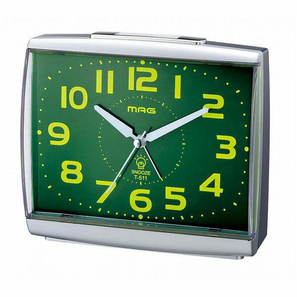 スタンダード目覚し時計 T-511 ビープインパクト ホワイト/36点入り(代引き不可):VANCL