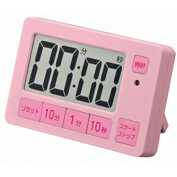 タイマー XXT504 音量切替機能付タイマー ピンク/100点入り(代引き不可)【S1】:VANCL