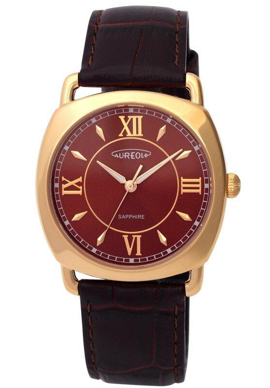 【AUREOLE】オレオール メンズ腕時計 SW-579M-2 アナログ表示 日常生活用防水 /5点入り(代引き不可)【S1】:VANCL