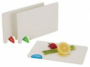 トントンまな板(日本製) トントンまな板 ホワイト×オレンジ/40点入り(代引き不可)