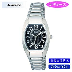 【AUREOLE】オレオールレディース腕時計SW-488L-1アナログ表示日常生活用防水/10点入り(き)